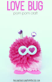 love bug pom pom craft fspdt
