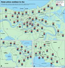 New Orleans French Quarter Map by Home Prices Rise For Third Year In A Row In The New Orleans Area