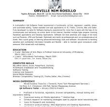 Manual Testing 2 Years Experience Resume 100 Qtp Tester Resume Download Game Test Engineer Sample Resume