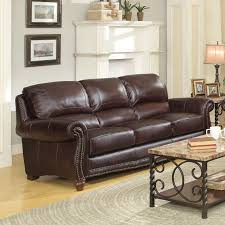 Leather Camelback Sofa by Good Camelback Leather Sofa Time Out 77 With Additional Sofa Table