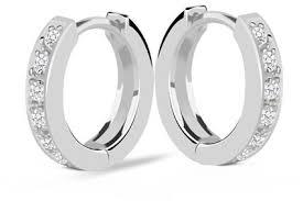 small white gold hoop earrings buy earrings online at best price in dubai uae souq