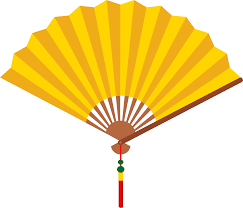 asian fan asian fan clipart