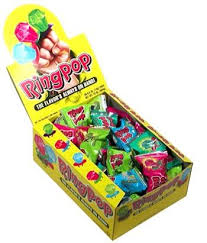 ring pop boxes ring pop lollipops 24 box candy favorites