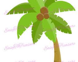 coconut tree etsy