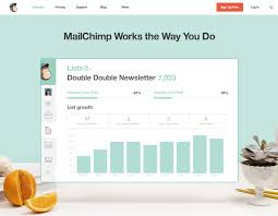 button for login and signup for special promotion mailchimp site