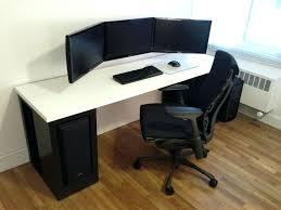 Gaming Desk Ideas Wooden Gaming Desk L Shaped Gaming Computer Desk Best Gaming Desk