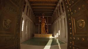 Parthenon Interior Mwd Greece Secrets Of The Past