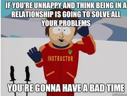 Unhappy Meme - for all those who complain about being single and unhappy meme guy