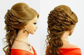 prom hairstyles for medium hair beautiful prom u0026 wedding hairstyle for long hair tutorial youtube