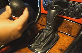 how to replace mercedes shift knob on clk class w209 c209