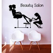 manicure pedicure beauty salon sticker vinyl wall art eco manicure pedicure beauty salon sticker vinyl wall art
