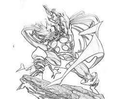 marvel coloring pages thor for kids 4778 marvel coloring pages