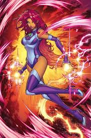 Starfire Costume Starfire U0027s Teen Titans Rebirth Costume Starfire Comic Vine