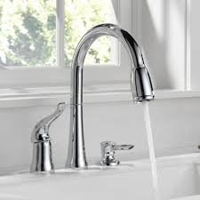 elegant delta single handle kitchen faucet best kitchen faucet