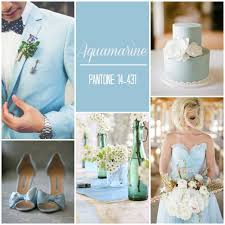 aquamarine wedding pantone colour report 2015 aquamarines light blue and