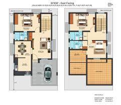 east facing duplex house floor plans precious 11 duplex house plans for 30x50 site east facing north
