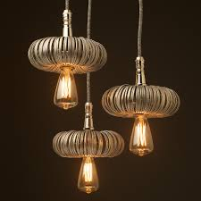 nickel pendant light fitting aluminum can rings