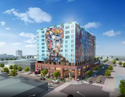 Home Design District Los Angeles Holiday Inn Express Suites Los Angeles Downtown West Hotel By Ihg