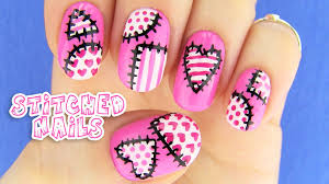 cute nails nail art inspired by xojahtna youtube