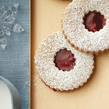 linzer cookies chatelaine