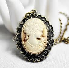 antique necklace pendant images 4003 12pcs lot victorian style antique bronze cameo pocket watch jpg