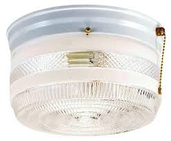 Pull Chain Light Fixture Light Flush Mount Ceiling Light With Pull Chain