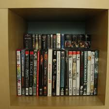 Dvd Holder Woodworking Plans by Best 25 Dvd Storage Rack Ideas On Pinterest Diy Dvd Shelves