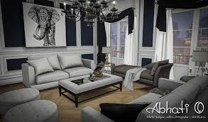 living room family room interior design abhati o