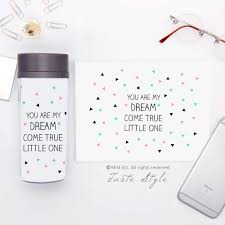 quote kids online shop plastic insulated dream quote kids water bottle 300ml