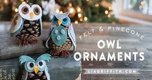 diy pinecone owl ornaments pictures photos and images for