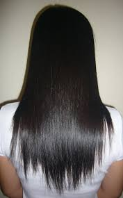 how to cut hair straight across in back straight back hair style hair is our crown