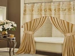 Shower Curtain And Valance Wonderful Luxury Shower Curtains And Cool Elegant Shower Curtains