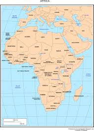 Africa Countries Map Quiz by Map Of Africa Capitals Deboomfotografie
