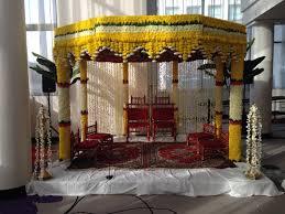 Mandap Decorations Hindu Wedding Mandap