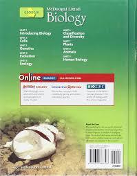 amazon com mcdougal littell biology georgia student edition