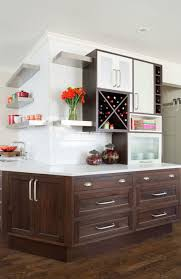 white cabinets brown lower cabinets in kitchen 11 easy ways to modernize brown cabinets