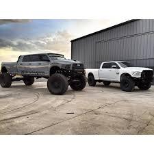 mega truck diesel brothers dan bilzerian u0027s truck sitting next to fleece performance