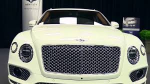 bentley white interior 2017 bentley bentayga w12 limited white edition features