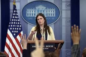 watch live white house press briefing with sarah huckabee sanders