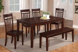 bench style dining room tables dining room tables with bench seating ideas and rustic images