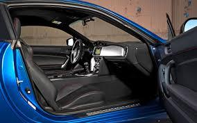 subaru brz interior 2013 subaru brz limited first test motor trend