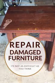 Dining Room Chair Repair by Best 25 Repair Wood Furniture Ideas On Pinterest Repair