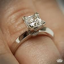 cut solitaire engagement rings classic classic knife edge solitaire engagement ring for princess