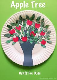 the joy of sharing handprint apple tree craft