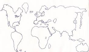world map image drawing best photos of world map drawing world map line drawing blank