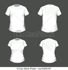 vector t shirt design template vector set with white clip art