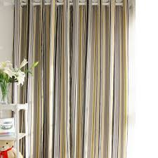 Lined Cotton Curtains Cotton Curtains Of Striped Lines For Blackout Buy Multi Color