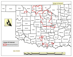 Earthquake Incident Map Oklahoma Unveils New Wastewater Restrictions As Quakes Keep Coming