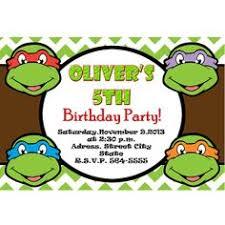 birthday invites 10 ninja turtle birthday invitations free