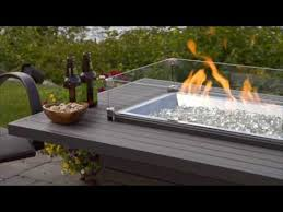 outdoor greatroom fire table brooks fire table the outdoor greatroom company youtube